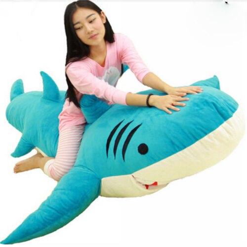 Giant Huge Big Shark Sleeping Bag Beanbag Sofa Bed Plush Stuffed Soft Toys  Gift