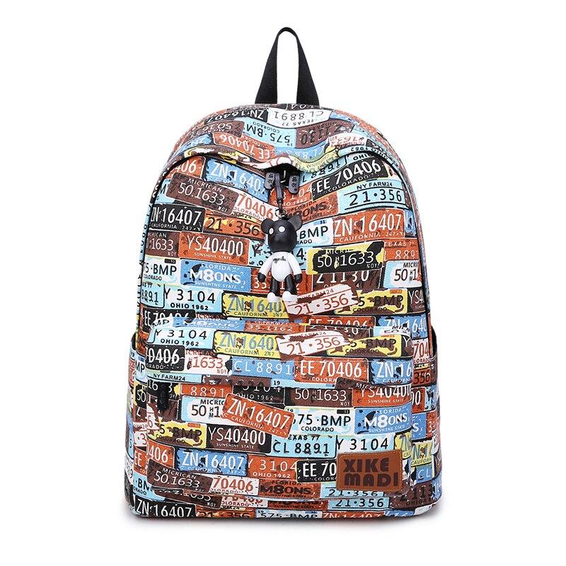 Women Laptop Backpack Large Capacity School Bag for Teenage Girls 2019 Hot Female Male Bagpacks Student Escolar Mochila Feminine in Backpacks from Luggage Bags