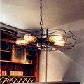 Fan Creative Loft Industrial Pendant Light With 5 Edison Light Fixture Dinning Retro Vintage Hanging Lamp Suspension Luminaire