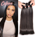 8A Russian Virgin Hair Straight 3 Bundles Remy Human Hair Extensions Russian Straight Virgin Hair Coleen Product Russian Hair