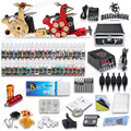 top quality 2 tattoo machines  Power Needles 40 Ink Tattoo Kits