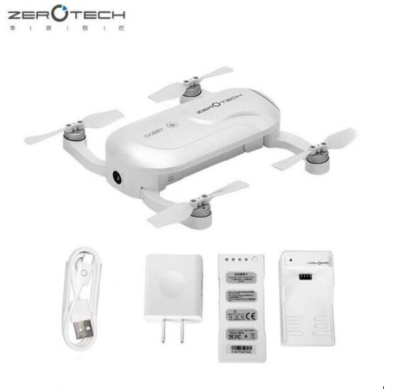 ZEROTECH Dobby Pocket Selfie Drone BNF ชุด body หรือ body ชุดแบตเตอรี่และชาร์จ-ใน ชิ้นส่วนและอุปกรณ์เสริม จาก ของเล่นและงานอดิเรก บน   1