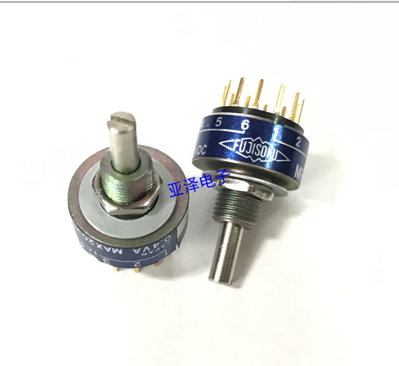 Original new 100% Japan import MRE2-6S small sealed rotary band switch 2 knife 6 shift switch original new 100% japan import 84pw031 pcu p248 cxa 0437 inverter power accessories