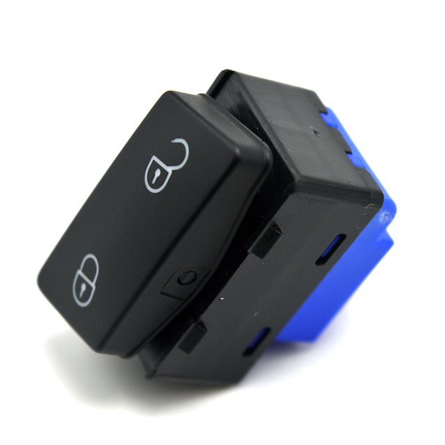 US $8 58 14% OFF|OEM Central Saftey Lock Unlock Button Switch For  Volkswagen VW Caddy Touran 1TD 962 125 1TD962125 1T0 962 125-in Car  Switches &