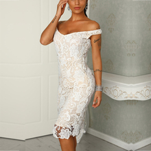 8d7824c31b269 Buy lace midi white dress and get free shipping on AliExpress.com