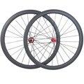 50 мм бескамерные 25 мм 700c wheelset cx32 ступицы 1420 Велосипедное колесо со спицами 1630g 3K UD Углеродные дорожные колеса