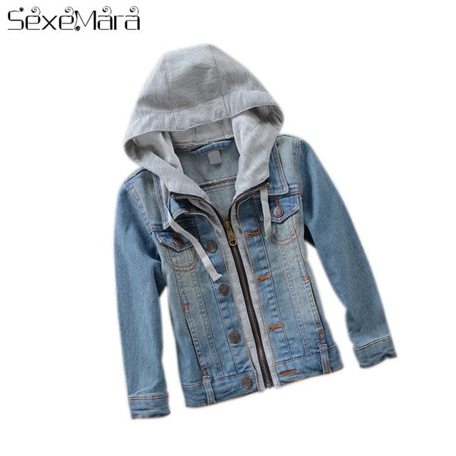 29ae2f387074 Fashion Denim Baby Boys Children Outerwear Coat Fashion Kids Jackets ...