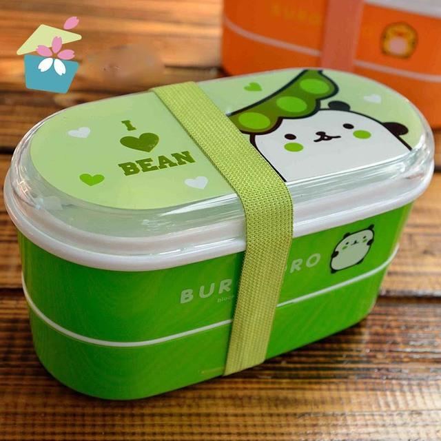 Baby Feeding Dish Cute Baby Outdoor Food Storage Box Snack Box Kids Toddler Fruit Snack Box BPA Free Baby Food Feeding Boxes