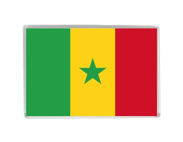 Senegal flag quality acrylic fridge magnets exquisite world tourism souvenirs refrigerator magnetic stickers collection