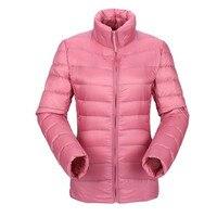2018 Winter Plus Size 3XL Duck Down Pink Jackets Womens Ultra Light Short Warm Coat Black Thin Spring Puffer Jacket