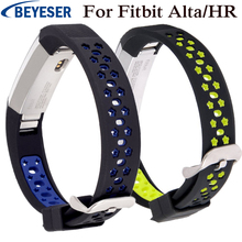 Watchband for Fitbit Alta/HR replacement bracelet silicone wrist strap Smart watchstrap For Fitbit Alta/HR sport watch belt band high quality replacement alloy crystal rhinestone wristband band strap bracelet for fitbit alta for fitbit alta hr watch band