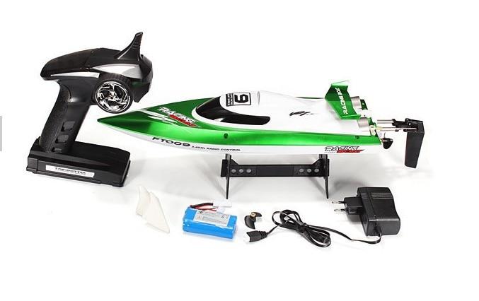 2015 Jucării noi pentru telecomandă FT009 2.4G Răcire cu apă 4CH RC Jucărie pentru bărci 25kM / H VS FT007 FT009 Wl911 Wl912 udi001
