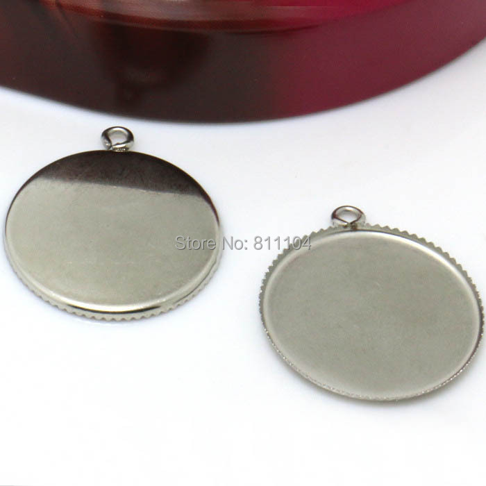 5 New Charms Mixed Hollow Round Circle Pendants 40x44mm