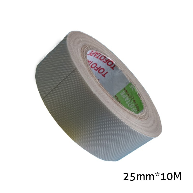 2 x Rolls 25mm x 10 m Thermal resistant press transfer tape the Teflon high temperature tape for sublimation transfer machine S