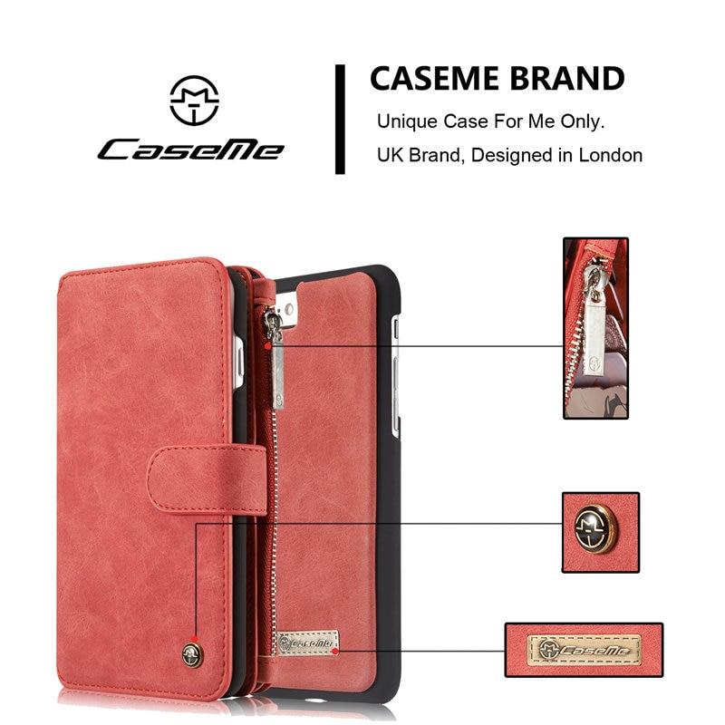 CaseMe-märke för Apple iPhone 7 Fodral Lyxigt - Reservdelar och tillbehör för mobiltelefoner - Foto 5