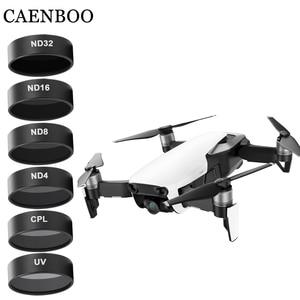 Image 5 - CAENBOO מצלמה מסנני Mavic אוויר UV CPL מקוטב ND 8 16 32 צפיפות ניטראלי סט Drone מסנן עבור DJI mavic אוויר אבזרים
