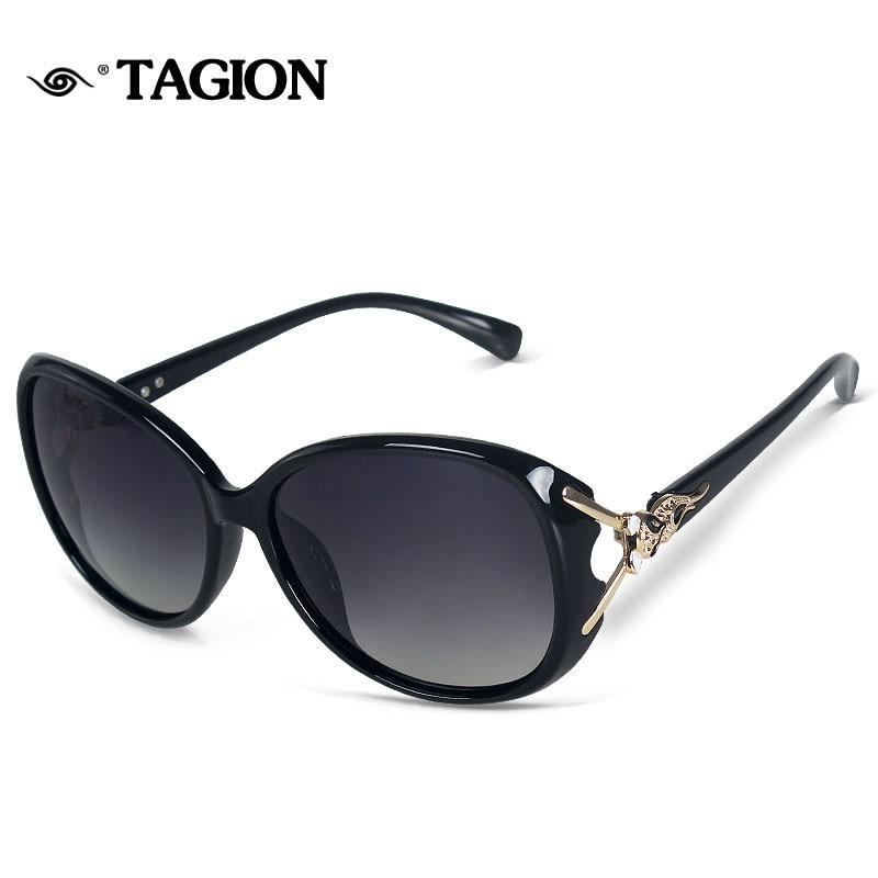 ... TAGION Do Vintage Óculos De Sol Das Mulheres Designer de Marca  Polarizada 2017 Fox Em Forma De Luxo HD Óculos Oculos de sol Feminino  8842EUA  8.51 piece ... 1ee3b549f0