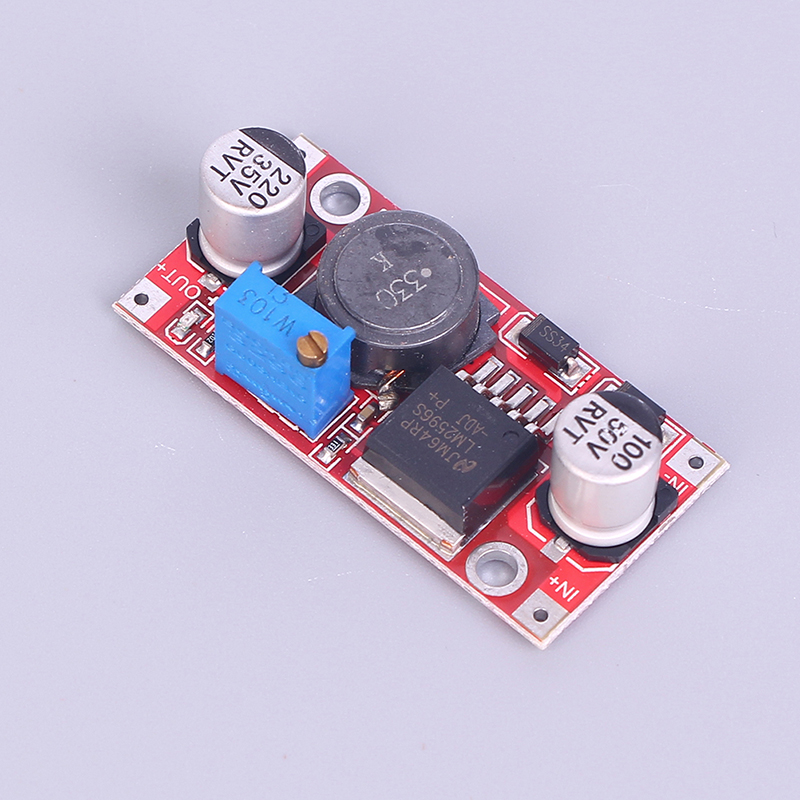 DC-DC 3,2-40 V Einstellbar Max 3A Step Down Buck Lade Board LM2577S LM2596S Power Ladegerät Converter Modul image