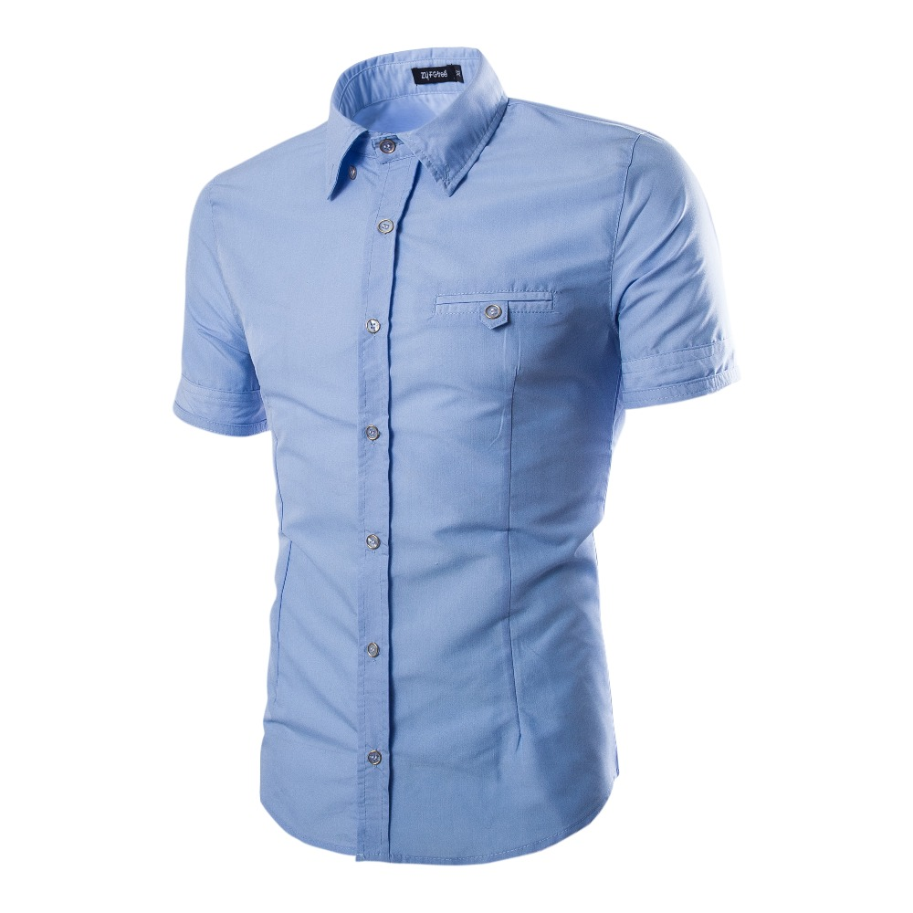 Popular Short Sleeve Button Down Shirts for Men-Buy Cheap Short ...