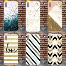 Suef Amp Yellow Gold Glitter TPU Best Cases For HTC Desire 530 626 628 630 816 820 One A9 M7 M8 M9 M10 E9 Plus For Moto G G2 G3(China)