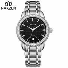 NAKZEN Men Business Mechanical Watch Men's Automatic Miyota 8215 Movt Diamond Watches Sapphire Wrist Watch Waterproof Clock цена и фото