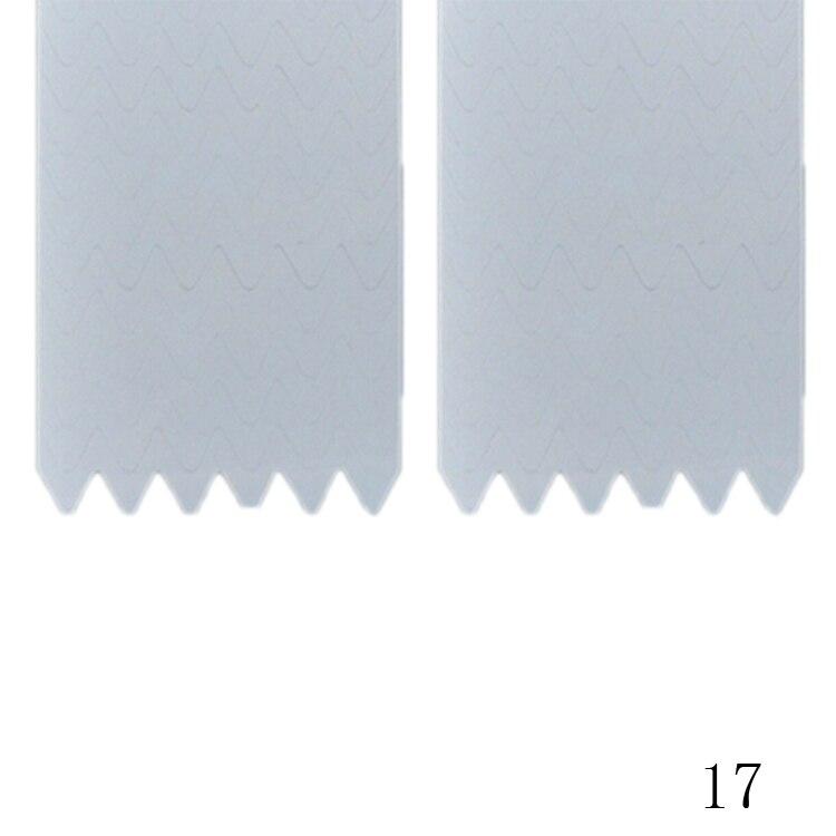 New Fashion 48PCS/Lot Nail Sticker DIY French Manicure Nail Art Decorations Round Form Fringe Guides Nail Sticker 23