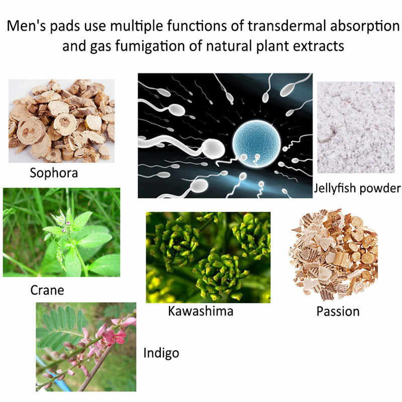 5 packs Wonderful Male pad prostatic plaster sanitary napkin urinary tract  infection prostatitis prostate massager men health