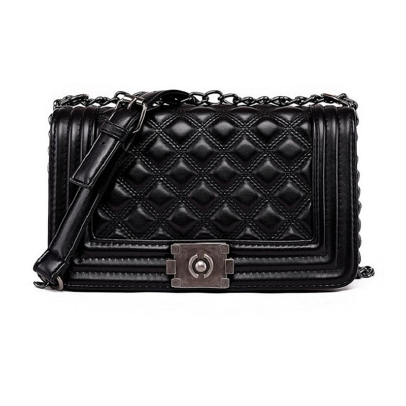 Vintage Diamond Lattice Handbags Hotsale Women Evening Clutch Ladies Party Chain