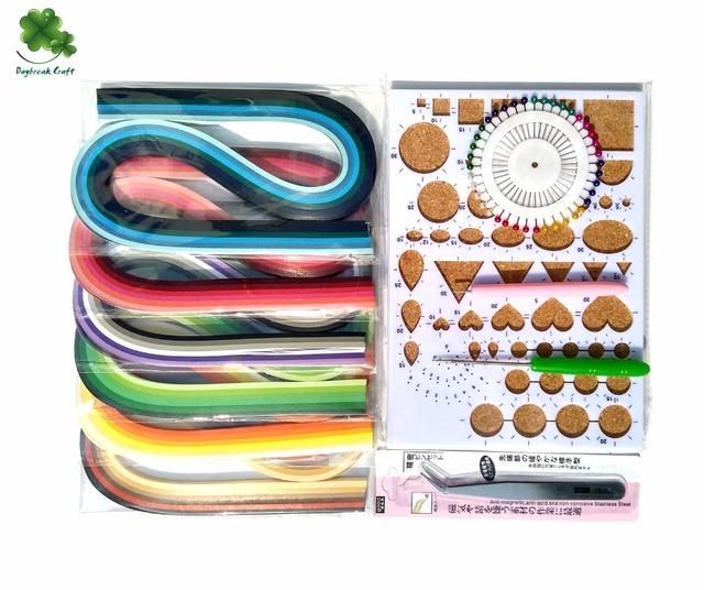 2016 new Quilling Kits With Quilling Paper 720pcs Strips,Quilling Tools and embellishments for scrapbook