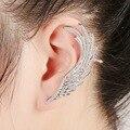 2017 joyería de moda personalidad Pendientes de la aleación Del Oído espiral anti alérgicos ear cuff pendientes de clip de oreja caliente boucle d'oreil pendiente