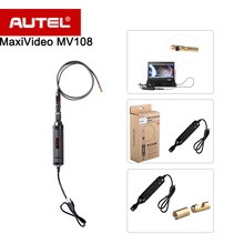 Autel MaxiVideo MV108 8.5mm Câmera de Inspeção Digital de apoio Poderoso e perfeito para inspecionar a maioria dos furos de plugue de faísca maxisys