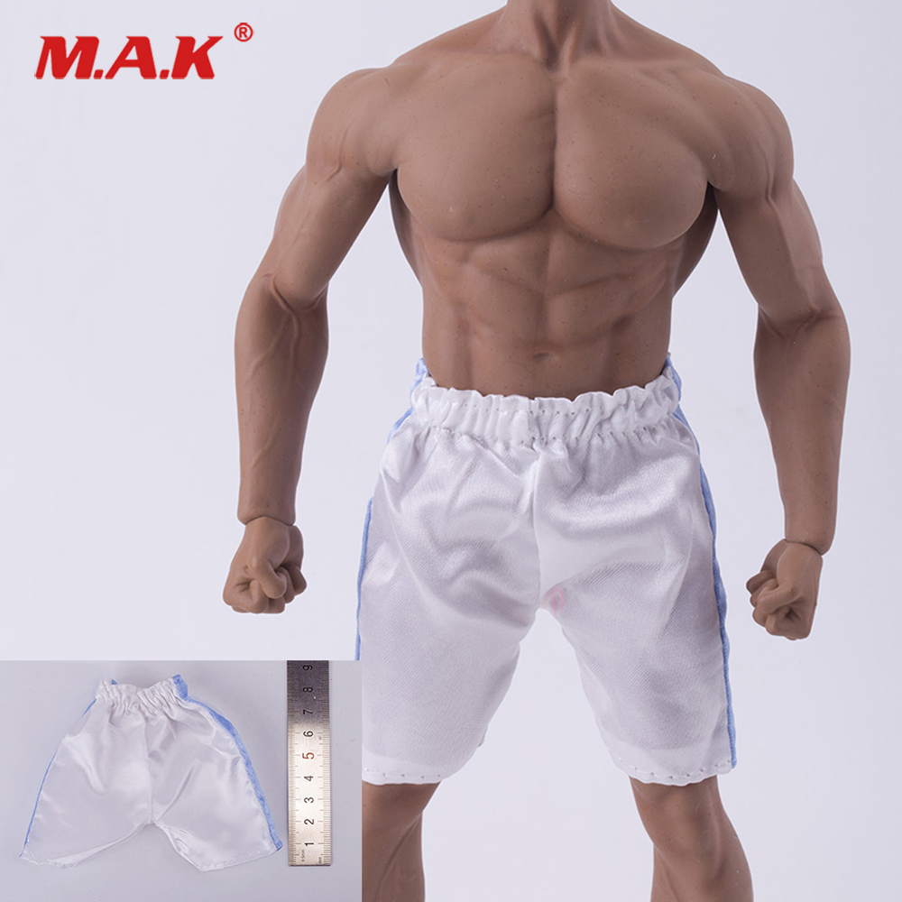 "Uniform 1//6 Scale for 12/"" Action Figure Toys Mini White Cool Casual Short Pant"