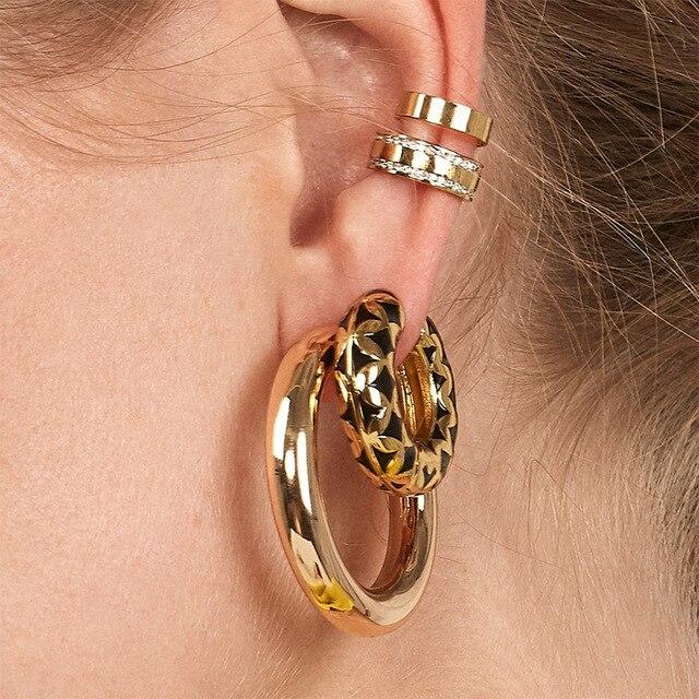 Bohemian Pearls Ear Cuff 5