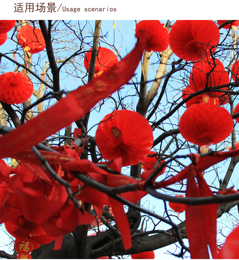 500pcs New Year Christmas Decoration Waterproof Red ...