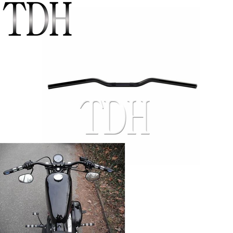 "Chrome Motorcycle Handlebar 7//8/"" 22mm Drag Straight Bar For Harley Chopper"