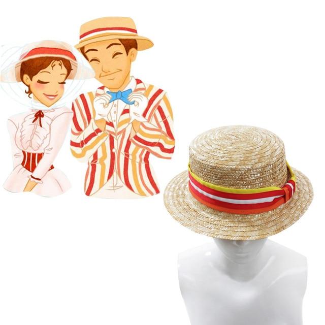 Mary Poppins Cosplay Adulto Mary Poppins Bert Fedora Del Cappello  Accessorio Copricapo Cosplay Costume b38577cda7a3