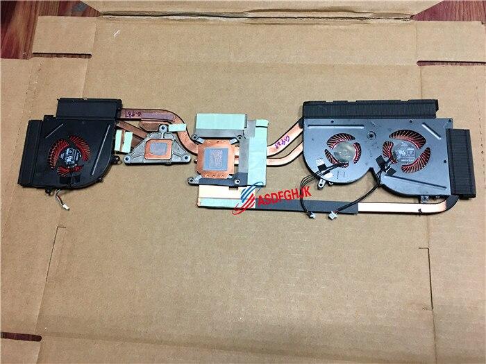 Original for MSI Gs63vr Radiator and fan E322500120A fully tested Original for MSI Gs63vr Radiator and fan E322500120A fully tested