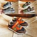 2017 de primavera de los nuevos niños niñas casual shoes niños shoes sneakers shoes kids light calidad excelente de cuero genuino durable