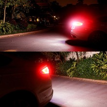 2Pcs auto Reverse Signal Lamp W21W T20 Car Turn lamps 6000K White 12V T15 W16W 1156 led car bulbs for Toyota Honda Ford