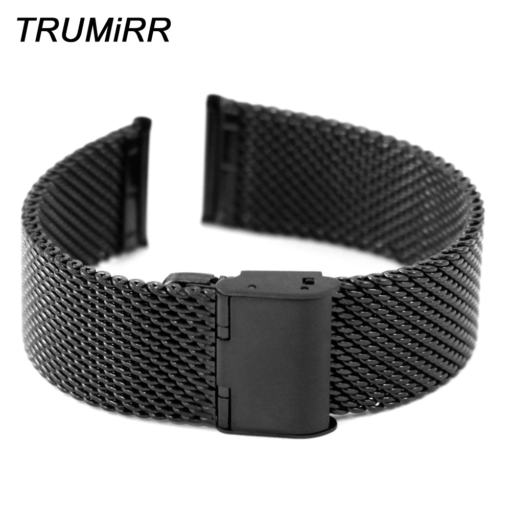 22mm Stainless Steel Watchband Smart Watch Band Strap for Moto 360 2 2nd 46mm 2015 Samsung Galaxy Gear 2 R380 Neo R381 Live R382 стоимость
