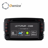 4G SIM LTE Android 6.0 4 Core 2 Din Car DVD Player GPS For Mercedes CLK W209 W203 W168 W208 W463 W170 Vaneo Viano Vito E210 C208