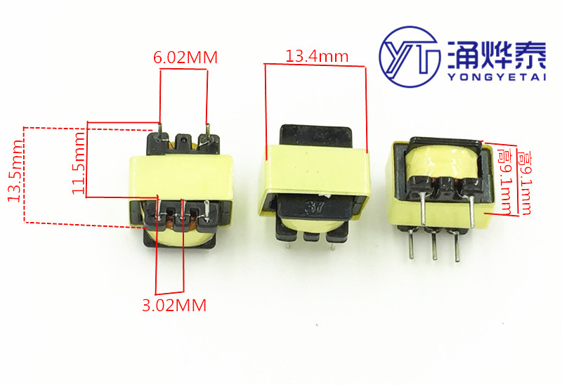 YYT Audio Transformator 600:600 Isolation Transformator 1:1 Transformator 5 Pin