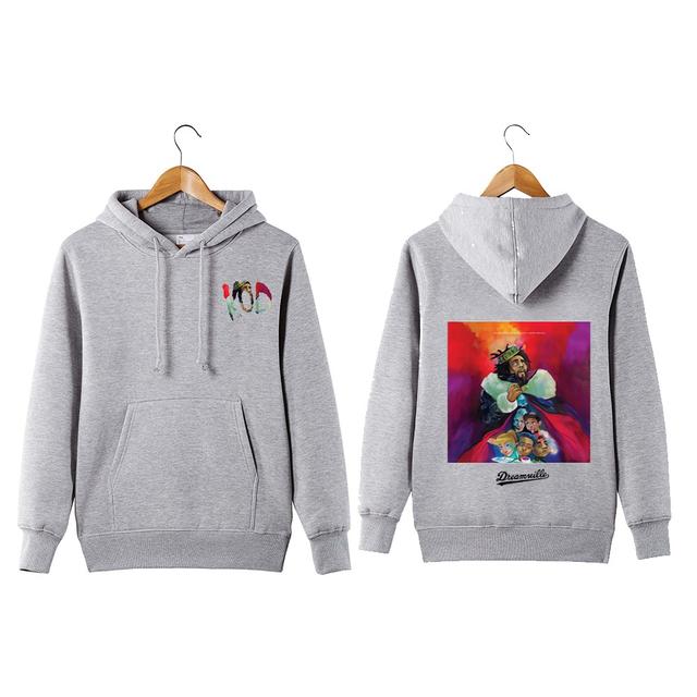 J Cole Hoodie Sweatershirt King Cole Dreamville hip hop KOD Pullover Hoodie Sweatershirt