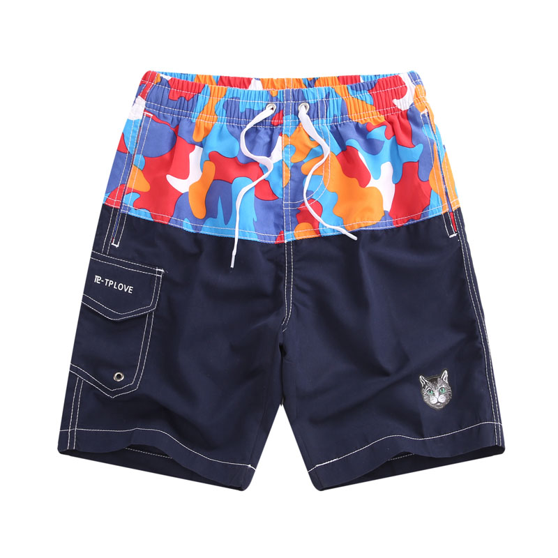 New 2019 Summer Boys Swimwear Kids   Shorts   Children   Board     Shorts   Swimming Trunks Kids Swimsuit Beach Wear