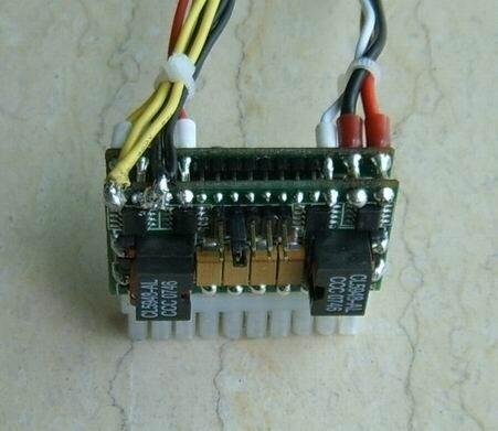 HL120D-7600 120w Output.6-30V Wide input intelligent Automotive Car PC Power Supply,Carpc Carputer in Vehicle Mini Pico-itx PSU