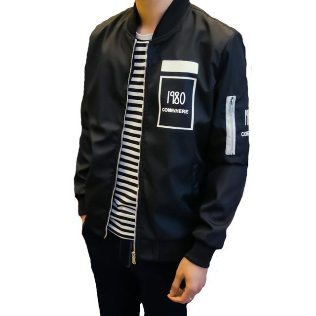 Men Bomber Jacket Autumn Patchwork Jacket  Mens Outwear Casual Chinese Jacket veste homme Windbreaker jaqueta masculina4XL,YA206