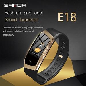 Image 2 - 三田 Bluetooth スマート腕時計女性スポーツウォッチ男性の心拍数モニター血圧フィットネストラッカースマートウォッチ ios アンドロイド