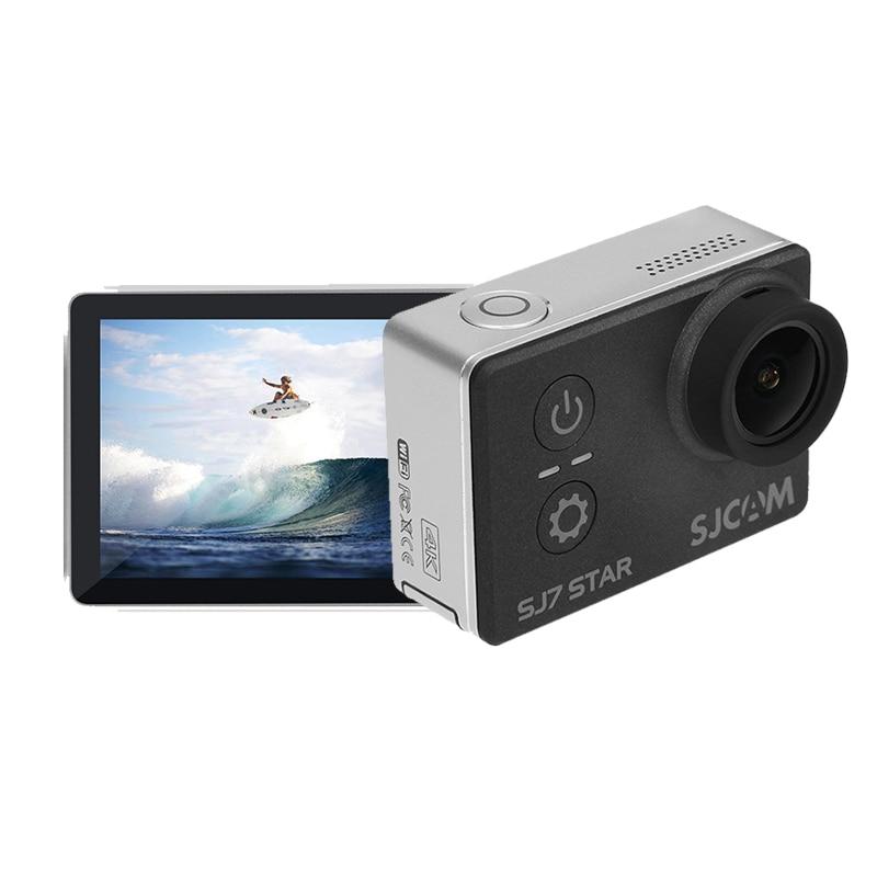 Original SJCAM SJ7 Star Sports Action Camera 4K 30fps 2.0 Touch Screen Remote Ultra HD Ambarella A12S75 30M Waterproof Car DVR