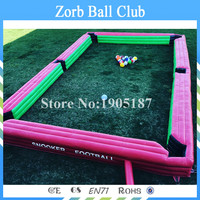 Free Shipping Inflatable Soccer Billiards,Inflatable Snook Soccer Balls,,Inflatable Snookball Game For Commerical