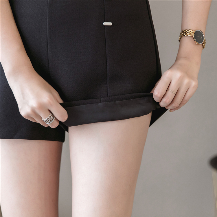 Summer Shorts For Women 2019 High Waist Casual Wide Leg Shorts Loose OL work Wear Solid Shorts 13